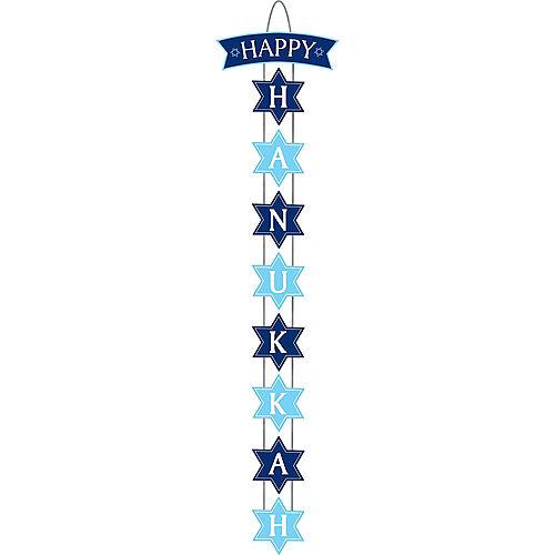 Happy Hanukkah Stacked Sign Image #1