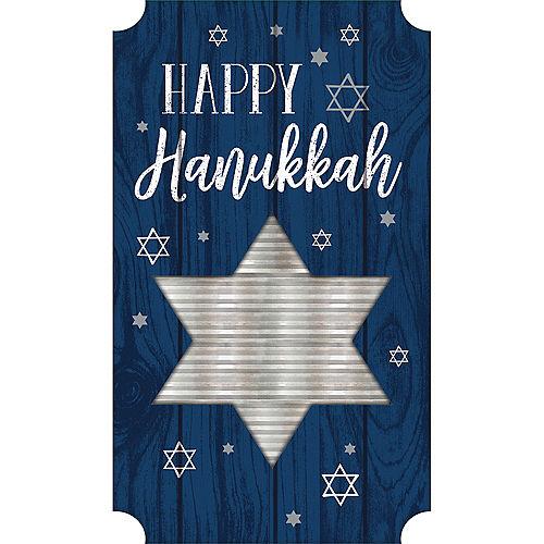 Happy Hanukkah Easel Sign Image #1