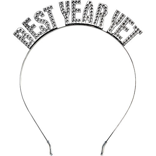 Silver Best Year Yet Headband Image #1