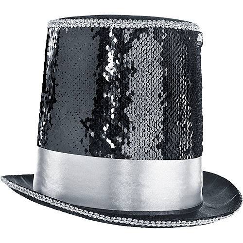 All Nighter Sequin Top Hat Image #1