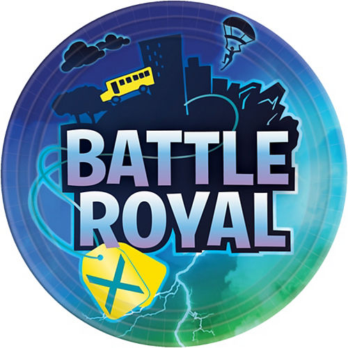 Battle Royal Lunch Plates 8ct Image #1