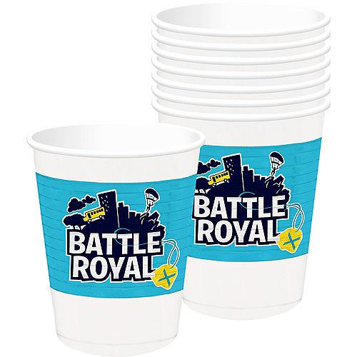 Battle Royal Plastic Cups 8ct Image #1