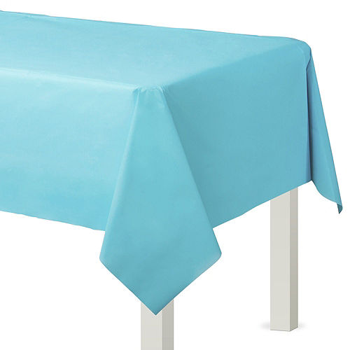 Caribbean Blue Paper Tableware Kit for 50 Guests Image #6