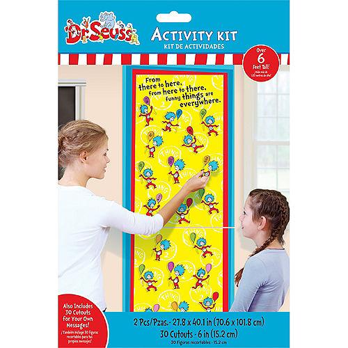 Dr. Seuss Name Poster Activity Kit Image #1