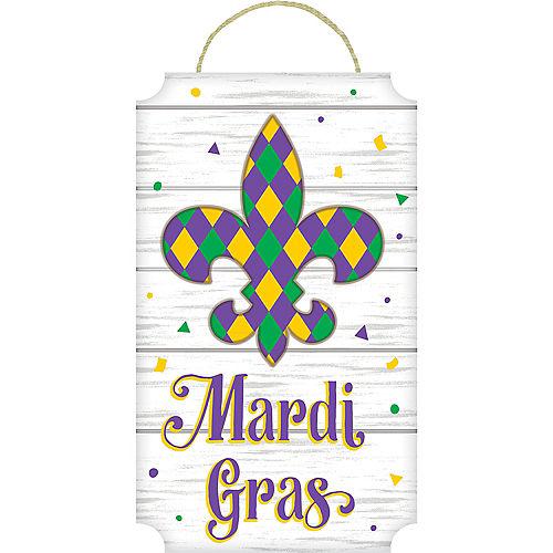 Fleur-de-Lis Mardi Gras Sign Image #1