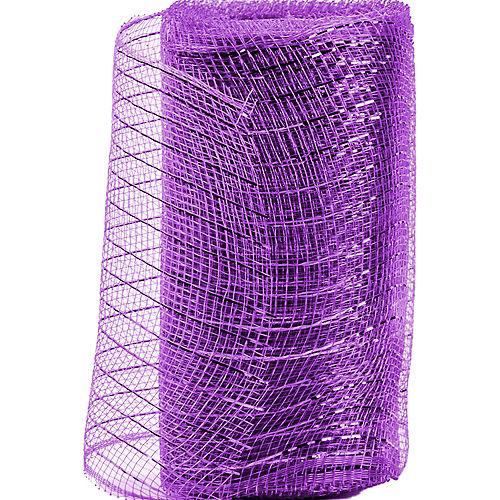Purple Deco Mesh Image #1
