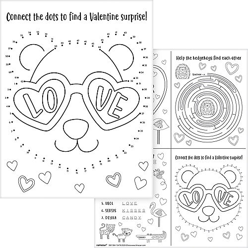 Cuddly Cubs Valentine's Day Activity Sheets  30ct Image #5