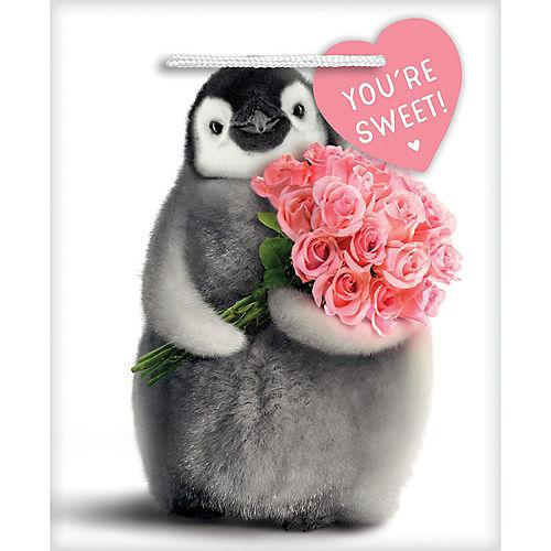 Mini Valentine's Day Animal Sweethearts Gift Bags 7ct Image #1