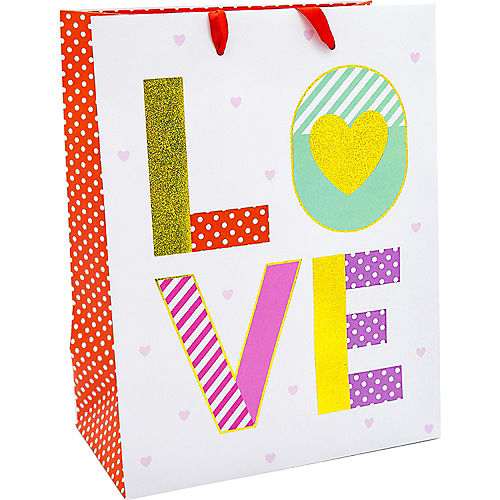 Medium Valentine's  Day Love Gift Bag Set Image #2