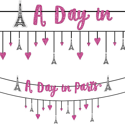 A Day in Paris Banner Kit 2ct Image #1