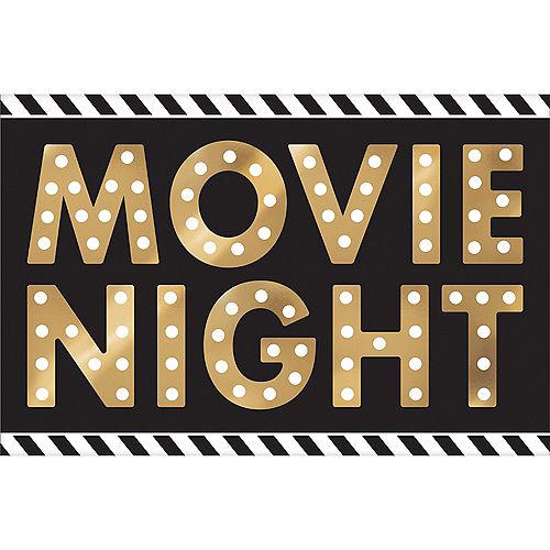 Movie Night Cardstock Cutouts 12pc Image #2