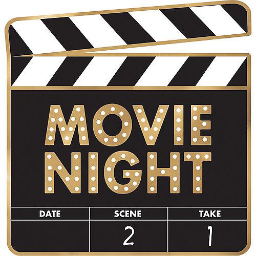 Movie Night Cardstock Cutouts 12pc Image #5