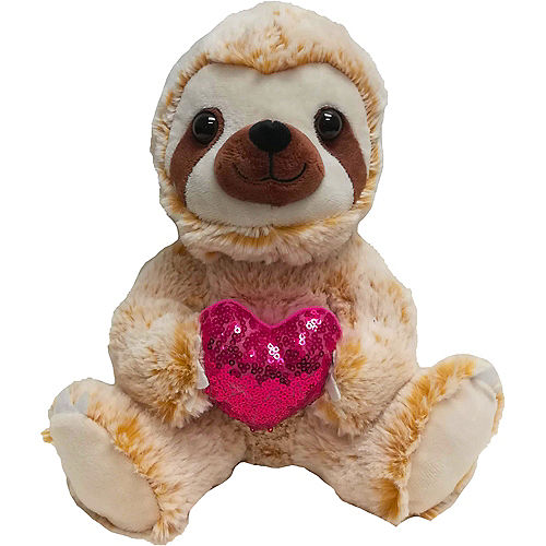Valentine's Day Sloth Plush Image #1