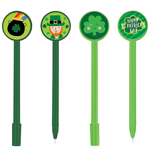 St. Patrick's Day Pens 8ct Image #1