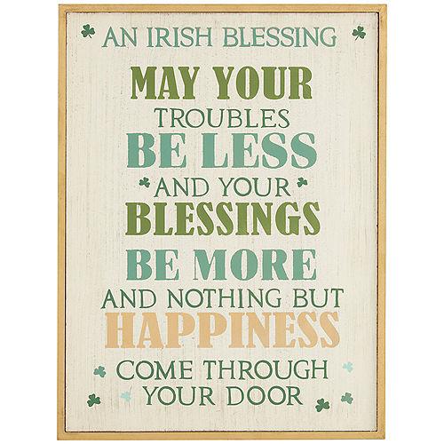 An Irish Blessing Sign Image #1