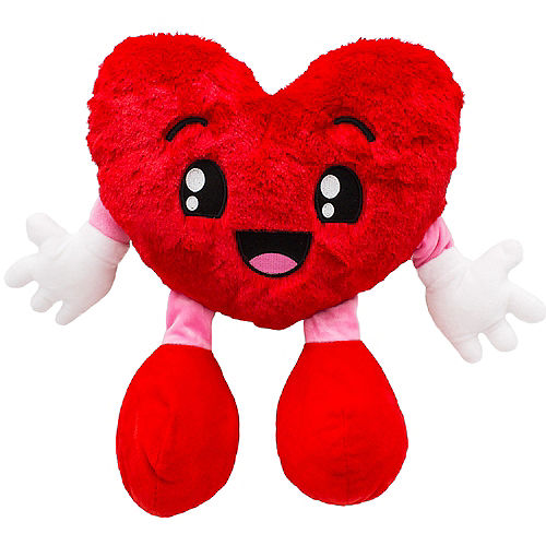 Fluffy Heart Plush Image #1