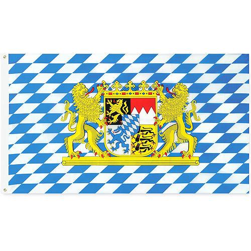 Oktoberfest Bavarian Flag Image #1