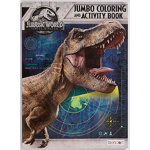 Jurassic World Coloring & Activity Book Image #1