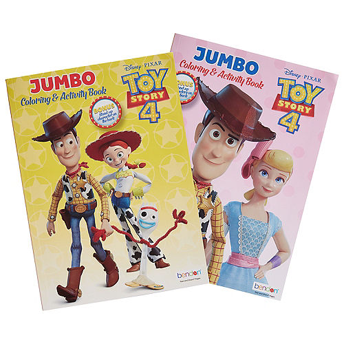Toy Story 4 Coloring & Activity Book Image #1
