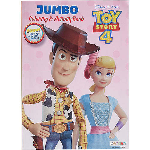 Toy Story 4 Coloring & Activity Book Image #2
