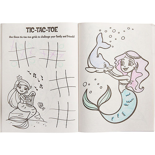 Mermaid Coloring & Activity Book Image #2