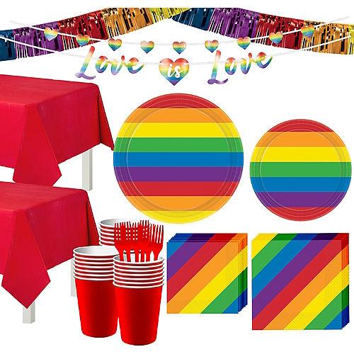 Pride Tableware Kit for 32 Guests Image #1