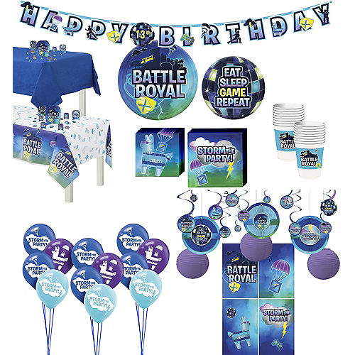 Ultimate Battle Royal Party Kit for 16 Guests Image #1