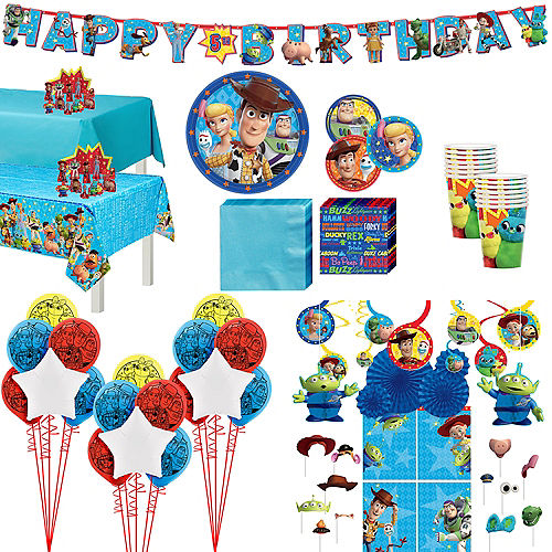 Super Toy Story 4 Party Kit for 16 Guests Image #1