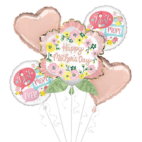 Flowers & Hearts Mother's Day Balloon Kit Image #1