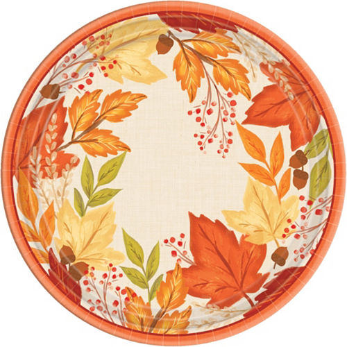Fall Foliage Tableware Kit for 32 Guests Image #3