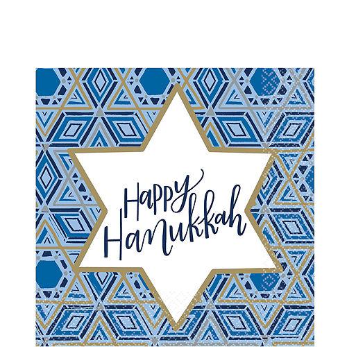 Festival Of Lights Hanukkah Tableware Kit for 18 Guests Image #4
