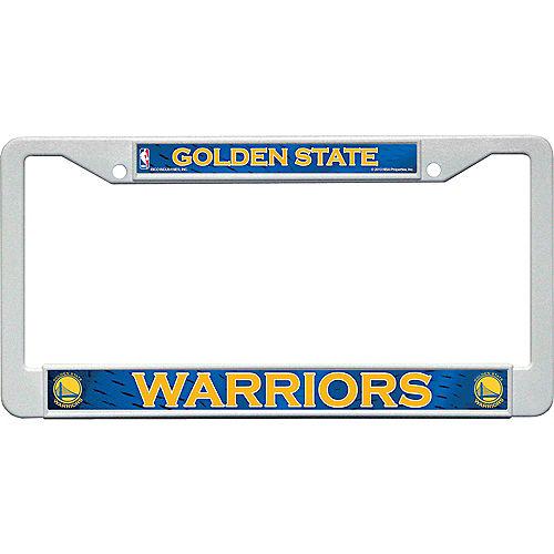 Golden State Warriors License Plate Frame Image #1