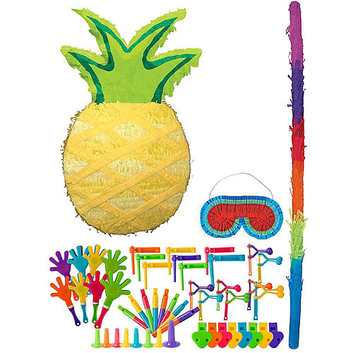 Pineapple Pinata Kit with Favors Image #1