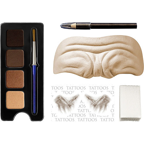 Old Person 3D Makeup Kit - 100 Days of School Image #1