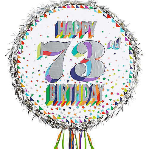Pull String Personalized Here's to Your Birthday Pinata Image #1