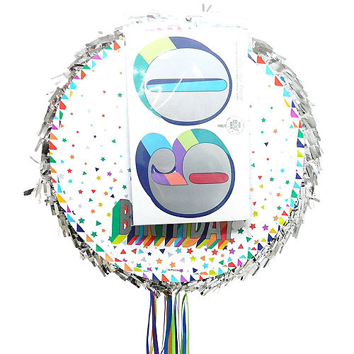 Pull String Personalized Here's to Your Birthday Pinata Image #2