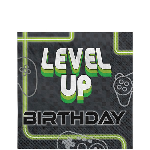 Level Up Lunch Napkins 16ct Image #1