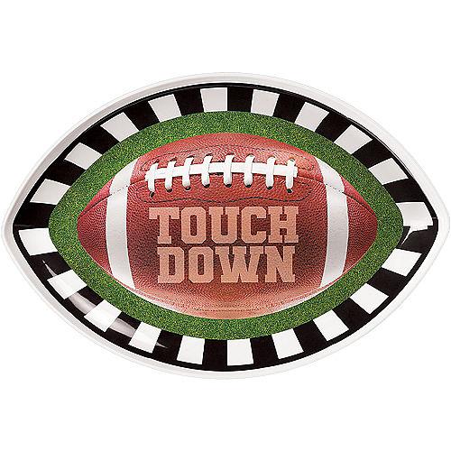Go Fight Win Football Melamine Oval Platter Image #1