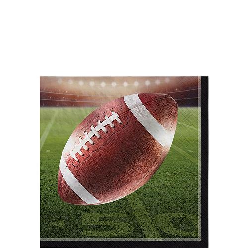 Go Fight Win Football Beverage Napkins 36ct Image #1