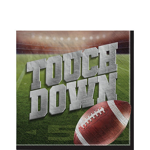 Go Fight Win Football Lunch Napkins 36ct Image #1