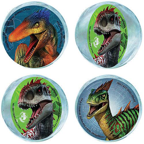 Jurassic World Bounce Balls 4ct Image #1