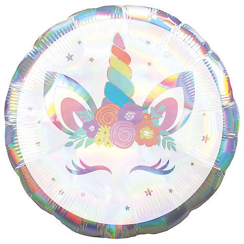 Iridescent Unicorn Balloon Image #1