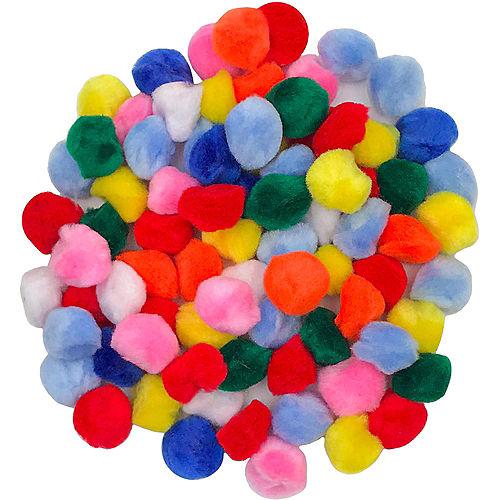 DIY Assorted Pom-Poms Pack Image #1