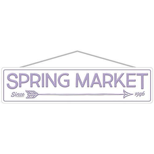 Lavender Spring Market Street Sign Image #1