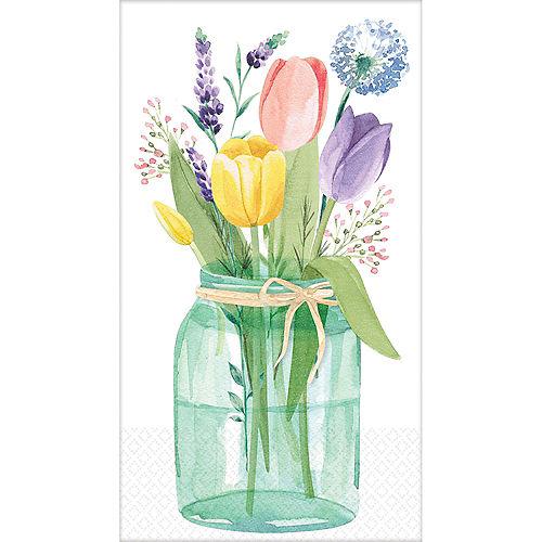 Tulip Garden Guest Towels 16ct Image #1