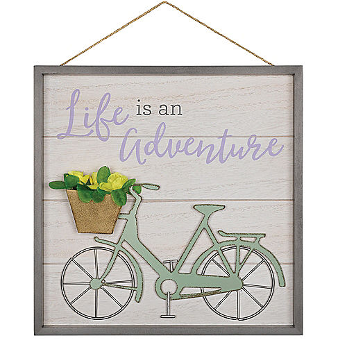 Rustic Life is an Adventure Sign Image #1