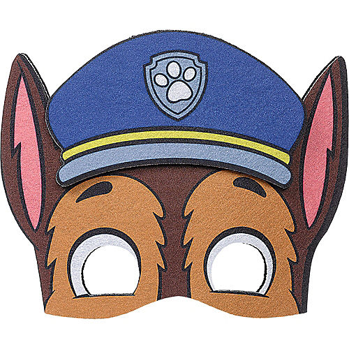 PAW Patrol Adventures Felt Chase Mask Image #1