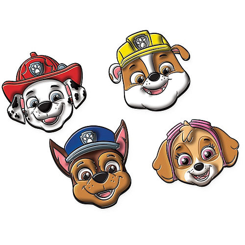 Paw Patrol Adventures Puffy Stickers Image #1