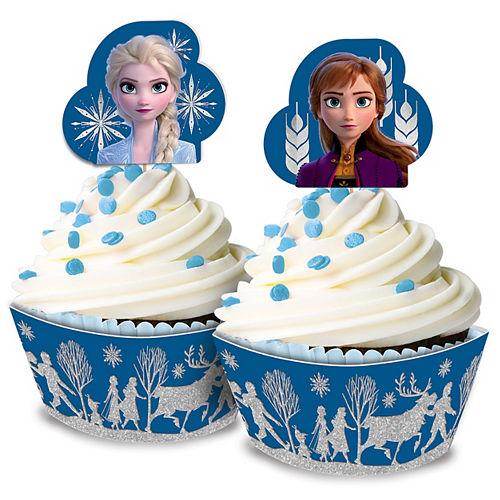 Glitter Frozen 2 Cupcake Kit for 24 Image #1