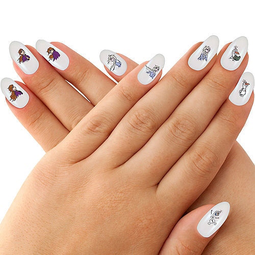 Frozen 2 Nail Stickers 4 Sheets Image #1